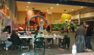 Sant Guim de Freixenet: Prop de 150 nens i nenes gaudeixen del Parc de Nadal   Consell Comarcal de la Segarra