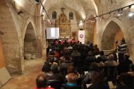 Cervera: La presentació es va realitzar a l'església de Sant Joan  Agrupació Seny Major