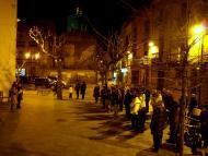 Guissona: l'acte ha tingut lloc a la Pl. Bisbe Benlloch  Jaume Moya
