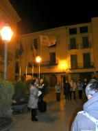 Cervera: Celebració per la declaració de sobirania del poble de Catalunya a Cervera  Narcís Turull