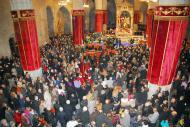 Cervera: Entrada a Santa Maria  lo carranquer