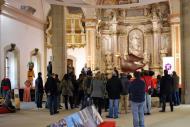 Cervera: Visita  a l'exposició  lo carranquer