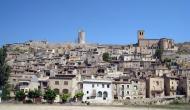 Guimerà: Vista del poble  Albert