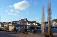 Les Piles: Vista del poble  Albert