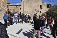 inauguració dels treballs de millora dels carrers