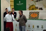 Mollerussa: L'empresa Dàlit Natura de Tarroja de Segarra presentant el seu producte a la Fira de Sant Josep  CC Segarra