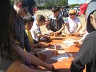 Sant Ramon: La trobada de ZER va reunir les escoles de Pallargues, Ribera d'Ondara, Sant Ramon i Sanaüja  CC Segarra
