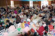Hostafrancs: A la 10ª trobada de puntaires  hi van assistir prop de 230 puntaires  CC Segarra