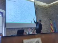 """Santa Coloma de Queralt: Presentació Manifest """"Pel retrobament de l'autèntica Segarra"""" per part d'Albert Turull (Fòrum l'Espitllera)  Ramon Sunyer"""