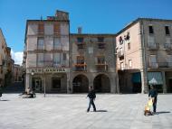 Santa Coloma de Queralt: L'ajuntament  Ramon Sunyer