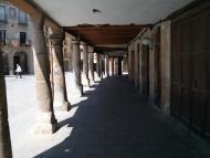 Santa Coloma de Queralt: Plaça Major o de les Eres  Ramon Sunyer