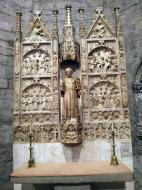 Santa Coloma de Queralt: Retaule de sant Llorenç  Ramon Sunyer
