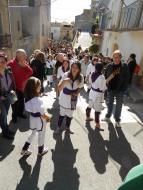Sedó: El bateig dels bastoners aplegà un nombrós públic  Ajuntament TiF