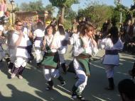 Sedó: bastons, gralles i tabal, va celebrar el seu bateig oficial  Assumpció Aubets