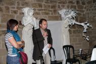 Guissona: acte oficial d'inauguració  del Mercat Romà presidit per l'Alcalde, Xavier Casoliva i la regidora de turisme, l'Anna Santacreu  Premsa Guissona