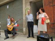 Guissona: Itinerari poètic Jordi Pàmias  Premsa Guissona