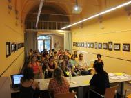 sessió informativa a la Biblioteca de Guissona, divendres 12 de juliol