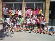Sant Guim de Freixenet: Esportivitza l'estiu a Sant Guim l'escola d'estiu d'enguany  CC Segarra