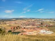 Calaf: Vista general de Calaf  Ramon Sunyer