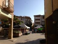 Santa Coloma de Queralt: Mercat setmanal  tribus de la segarra