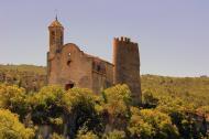 Pontils: Castell de Santa Perpètua i església de Santa Maria  Àngela Llop