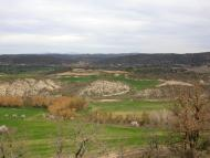 Vall del Llobregós: Al fons Sanaüja  Ramon Sunyer