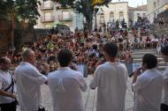 Cervera: concert de música tradicional a càrrec d'una desena d'alumnes i professors dels Espais de Música Tradicional de Bellpuig i Cervera  Ramon Armengol