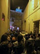 Guissona: Les visites visites s'han complementat amb una activitat artística, com música, teatre i cuina romana  Premsa Guissona