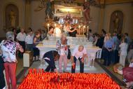 Sant Ramon: Pelegrins al santuari de sant Ramon  CC Segarra