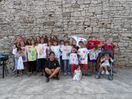 El Llor: edició del FEM MUNICIPI, taller de pintura sobre tèxtil pels infants  Ajuntament TiF