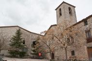 Vergós Guerrejat: L'església parroquial de Santa Magdalena de Vergós Guerrejat és d'estil neoclàssic senzill  Ajuntament d'Estaràs
