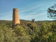 Vallferosa: Vista de la torre  Ramon Sunyer