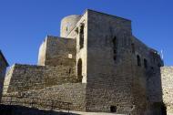 Sant Pere Sallavinera: Rampa d'accés al castell  Acna