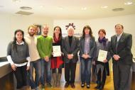 Premiats de la 10a edició del premi jove emprenedor/a