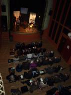 Guissona: acte de lliurament del Premi Sikarra 2013, al teatre de Ca l'Eril de Guissona  Jaume Moya