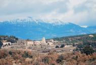 Peracamps: Vista del poble  Ramon Sunyer