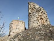 Alta-riba: Els despreniments al castell sant Miquel d'Alta-riba afecten el torreó del segle XII  AACSMA