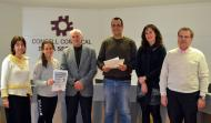Cervera: acte de lliurament dels premis de la 11a edició Jove Emprenedor a la Segarra.  CC Segarra