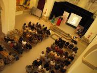 Torà: acte de lliurament del Premi Sikarra 2012, a Torà  Jaume Moya