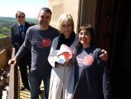 Florejacs: Mònica Terribas va rebre la Flor de Florejacs  Jaume Moya