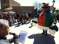 Florejacs: presentacio d'Hug, el drac del Llor  Jaume Moya