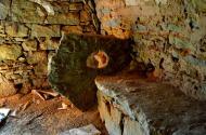 Els Plans de Sió: Detall de l'interior d'una cabana  Àngela Llop