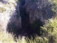 Argençola: Restes del castell d'Argençola  Ramon Sunyer