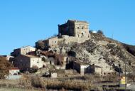 Enfesta: Castell d'enfesta, en procés de restauració  Ramon Sunyer