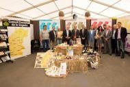 Cervera: estand del Consell Comarcal a la Fira de Sant Isidre  Jordi Prat
