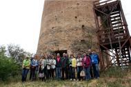 Representants d'agències de viatge  a la torre de Vallferosa