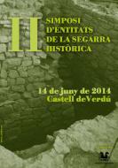 cartell II Simposi d'entitats de la Segarra històrica