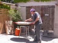 Argençola: Preparant el dinar  Ramon Sunyer