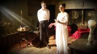 Florejacs: Performance al castell de les Sitges  JM Santesmasses