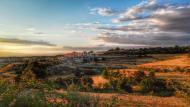 Cabestany: vista al capvespre  Ramon Sunyer